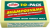 TURTLE SHAMPOSVAMP 10-PACK